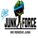 Junk Removal - A picture of Ohio Junk Force Company Logo.